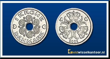 geldwisselkantoor-Deense Kronen-1-krone-1992-heden-denemarken