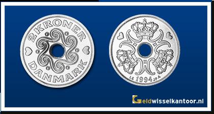 geldwisselkantoor-Deense-Kronen-2-kroner-1992-heden-denemarken