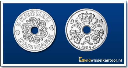 geldwisselkantoor-Deense-Kronen-5-kroner-1990-heden-denemarken