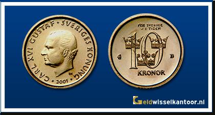 geldwisselkantoor-Zweedse Kornen-20-kronor-2001-zweden