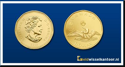 geldwisselkantoor-Canadese-Dollar-munten-1-Pound-1990-heden