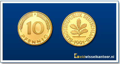 geldwisselkantoor-Duitse-Marken-munten-10-pfennig-duitsland