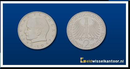 geldwisselkantoor-Duitse-Marken-munten-2-mark-1957-1971-duitsland