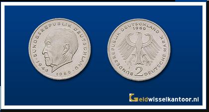 geldwisselkantoor-Duitse-Marken-munten-2-mark-1969-1987-duitsland