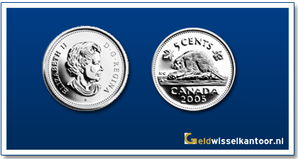 geldwisselkantoor-Canadese-Dollar-munten-5-Cents-2003-heden