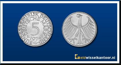 geldwisselkantoor-Duitse-Marken-munten-5-mark-1951-1974-duitsland