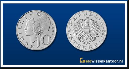 geldwisselkantor-10-Shilling-1974-heden-oostenrijk
