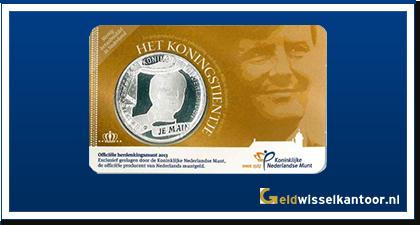Coincard 5 Euro Vrede van Utrecht Vijfje 2013
