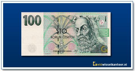 Tsjechië 100 Kronen King Karel IV 1995