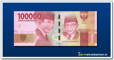 Indonesië-100.000-Rupiah-Soekarno-and-Hatta-2016