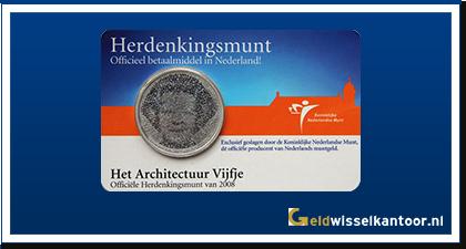 Coincard 5 Euro Het Architectuur Vijfje 2008