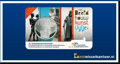 Coincard 5 Euro Beeldhouwkunst Vijfje 2012