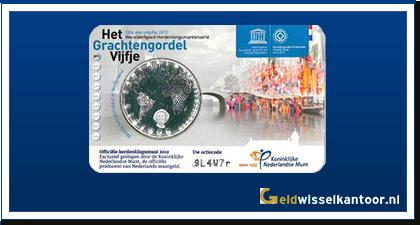 Coincard 5 Euro Grachtengordel Vijfje 2012