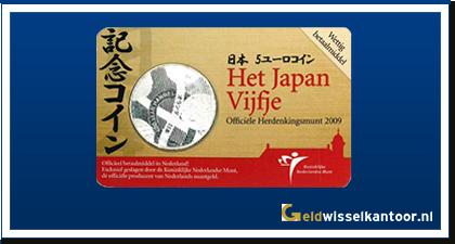 Coincard 5 Euro Het Japen Vijfje 2009
