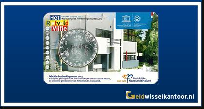 Coincard 5 Euro Rietveld Vijfje 2013