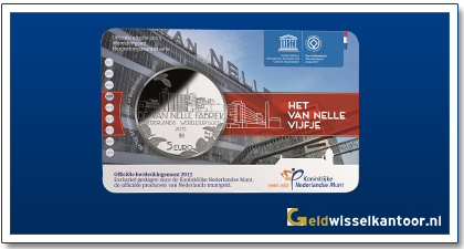 Coincard 5 Euro Van Nellefabriek 2015