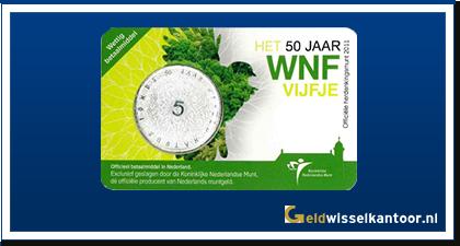 Coincard 5 Euro Wereld Natuur Fonds Vijfje 2011