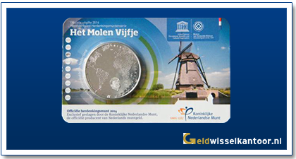 Coincard 5 Euro Het Molen vijfje 2014