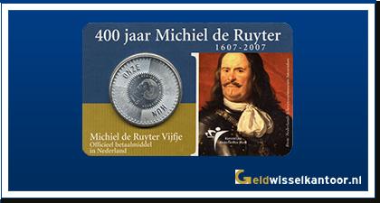 Coincard 5 Euro 2006 | 400 jaar Michiel de Ruyter 1607-2007