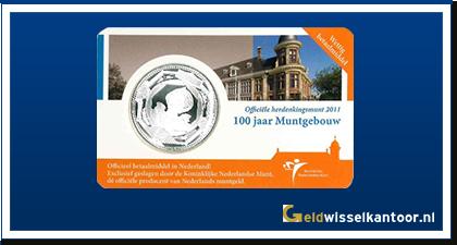 Coincard 5 Euro Muntgebouw Vijfje | 100 jaar Muntgebouw