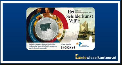 5 Euro Het Schilderkunst Vijfje 2011