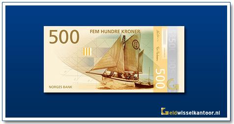 Noorwegen 500 Kronen Rescue Craft 2018