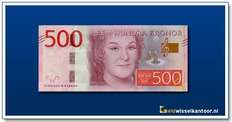 Zweden 500 Kronen Birgit Nilsson 2016