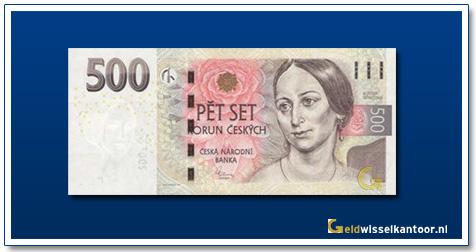 Tsjechië 500 Kronen Bozena Nemcova 2009