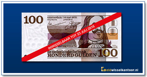 Nederland 100 Gulden 1970 Michiel de Ruyter