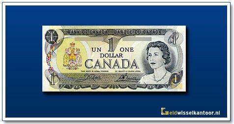 Canada 1 Dollar Queen Elizabeth II 1973