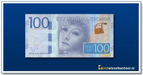 Zweden 100 Kronen Greta Garbo 2016