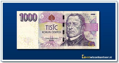 Tsjechië 1000 Kronen Frantisek Palacky 2008
