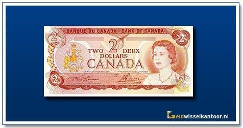 Canada 2 Dollar Queen Elizabeth II 1974