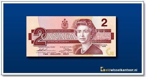 Canada 2 Dollar Queen Elizabeth II 1986