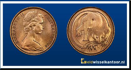 Australië 1 Cent 1966-heden