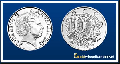 Australië 10 Cent 1999-heden