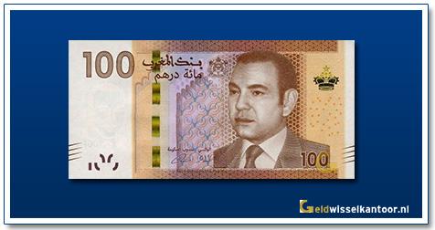 Marokko-100-Dirhams-Mohammed-VI-2012