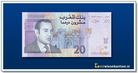 Marokko-20-Dirhams-Mohammed-VI-2005