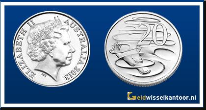 Australië 20 Cent 1999-heden