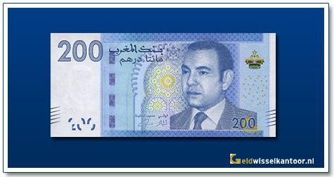 Marokko-200-Dirhams-Mohammed-VI-2012