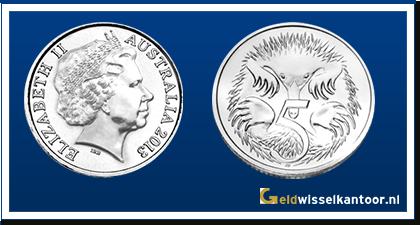 Australië 5 Cent 2001-heden