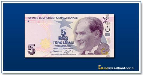 Turkije-5-Lira-President-Kamel-Ata-Turk-2012
