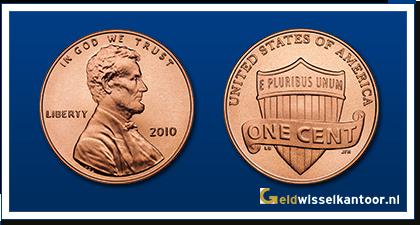 Amerika 1 Cent Lincoln 2010
