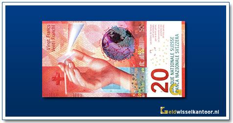 Zwitserland 20 Franken 2017-heden