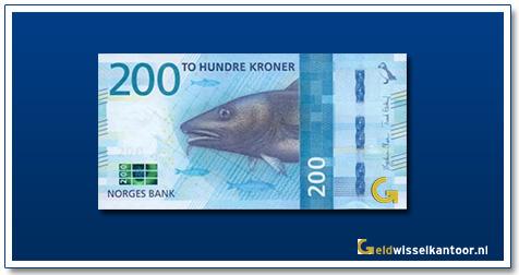 Noorwegen-200-Kronen-Cod-and-herring-2018