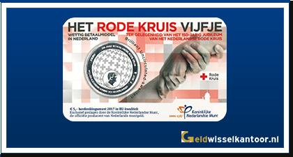 5 Euro Het Rode Kruis Vijfje 2017
