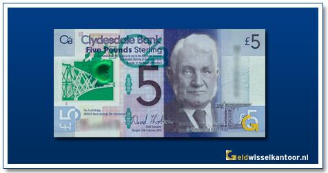 Schotland 5 Pounds William Arrol 2015-heden