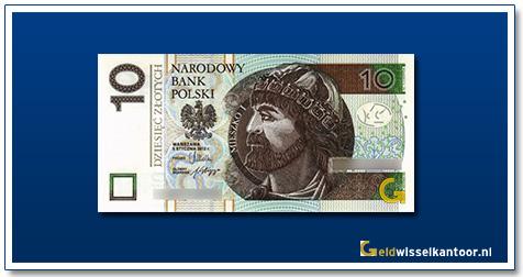 Polen 10 Zlotych Prins Mieszko 2012-heden