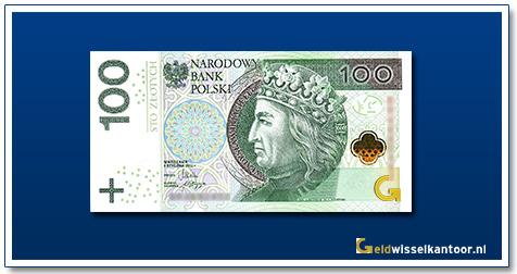 Polen 100 Zlotych Władysław II Jagiełło 2012-heden