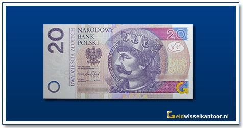 Polen 20 Zlotych Koning Boleslaw 2012-heden